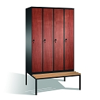 Lockers with MDF doors CP
