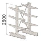 Cantilever kits 2-Sided 2500 H
