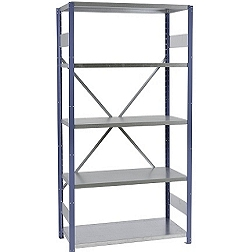 Shortspan shelving painted