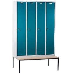 Lockers with a bench CP