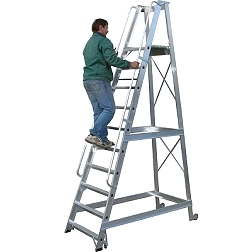 Warehouse ladders