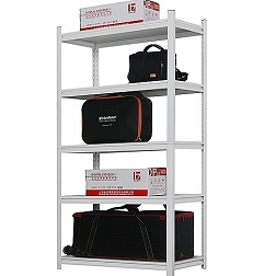 Storage rack Boltless painted 150kg/level
