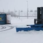Lumesahk kahveltõstukile 3000mm