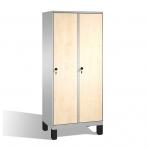 Riidekapp 2x400, 1850x810x500, lamineeritud uksed