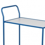 Table top trolley 830x465x985, blue