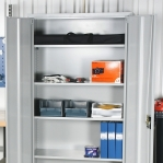 Arhiivikapp 4 riiuliga 2000x1000x500 RAL 7035 kokkupandav