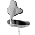 Lab Chair black with castors