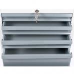 Drawer cabinet, 9 drawers 550x500x725