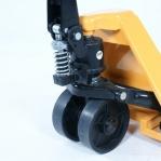 Hand pallet truck 1500x540/2000 kg, PU castors