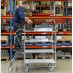 Trolley 3 shelves, 1195x470x1120, 250 kg