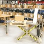 Käärkahveltõstuk 1000 kg roostevabast terasest korpusega