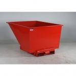 Tippcontainer 900L röd