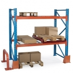 Kaubaaluse riiul põhiosa 3450x3300 1000kg/alus,9 alust