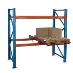 Pallställ startsektion 3975x2700 580kg/9 pallar