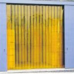 PVC kardin kollane läbipaistev 2x200mm/jm
