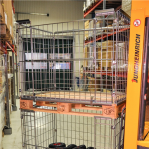 Pallet cage 1220x820x870 opening short side