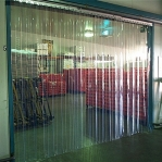 PVC curtain Standard 2x100mm/meter