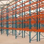 Kaubaaluste riiuli põhiosa 4000x1800, 1000kg/alus, 6 EUR alust OPTIMA