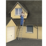 2-section extending ladder Prof 8,43m, 2x15 steps