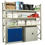Maxi extension bay 2100x1200x500 600kg/level,3 levels with steel decks