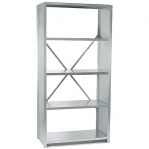 Extension bay 2500x1170x500 150kg/shelf,6 shelves