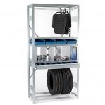 Extension bay 2500x1170x600 150kg/shelf,6 shelves