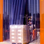 PVC curtain Standard 2x200mm/meter