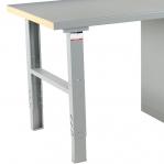 Töölaud 2000x800 5-osalise sahtlikapiga, tamm