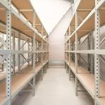 Metallriiul põhiosa 2200x1500x800 600kg/tasapind,3 puitlaast tasapinda
