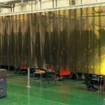Welding curtain bronze 2x300mm/meter