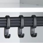 Metallist riidekapp 3x300, 1850x900x500