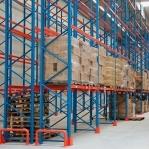 Kaubaaluste riiuli põhiosa 4000x2700, 1000kg/alus, 9 EUR alust OPTIMA