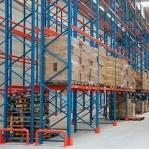 Pallställ startsektion 4500x3600 750kg/16 pallar OPTIMA