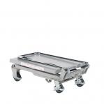 Tõstelaud ratastel alumiinium 450x700 mm 100 kg