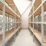 Metallriiul põhiosa 2500x1800x900 480kg/tasapind,3 tsinkplekk tasapinda