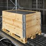 Turvaraam võrega 1100x1090mm/1070kg. 7 ribi G