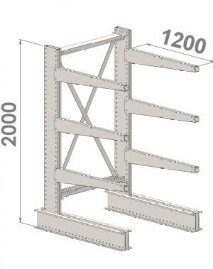 Starter bay 2000x1000x1200,4 levels