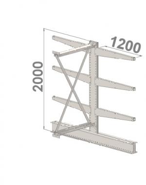 Konsoolriiul lisaosa 2000x1000x2x1200,4 korrust
