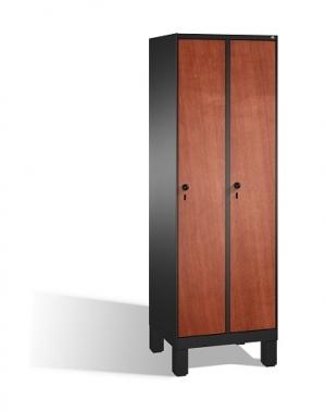 Riidekapp 2x300, 1850x610x500, lamineeritud uksed