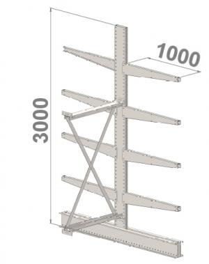 Add On bay 3000x1000x2x1000,5 levels
