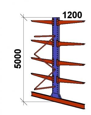 Add On bay 5000x1500x2x1200,5 levels