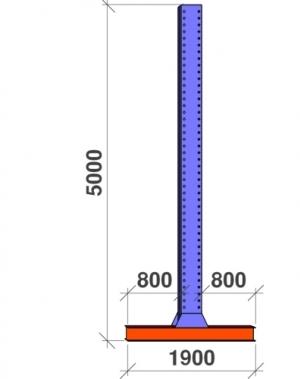 T-post 5000x2x800
