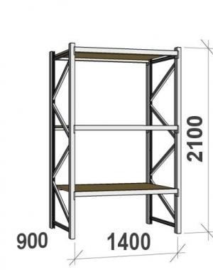 Laoriiul põhiosa 2100x1400x900 600kg/tasapind,3 PLP tasapinda