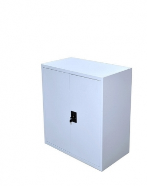Archive cabinet 2 shelves 900x800x400 grey unmount, collapsible