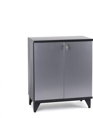 Metallkapp 1 riiuliga 920x800x400 jalgadega