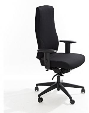 Kontoritool Office Lux 645 polsterdatud kangaga, kõrgus 470-610 mm