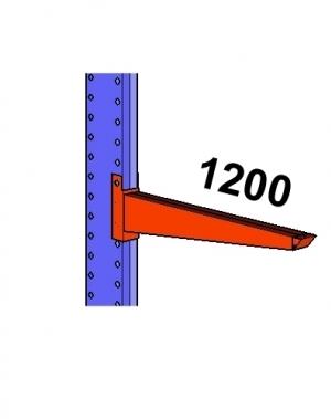 Konsool 1200mm/800 kg.