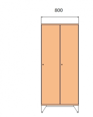School locker 1590x800x545