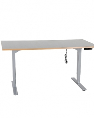 Töölaud elektriline, 1600x800mm/150kg, h=620-1270mm