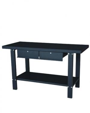 Metallist töölaud 1500x640x865, 2 sahtlit; PT/SC5911